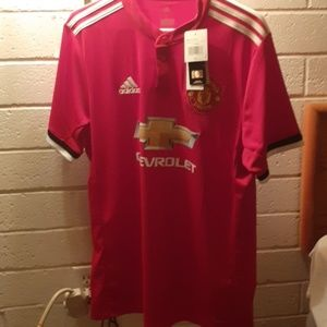 Authentic Manchester United soccer Jersey
